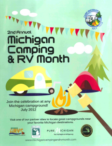 Michigan Camping & RVing Month