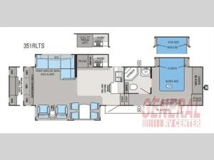 Jayco Eagle Floorplan