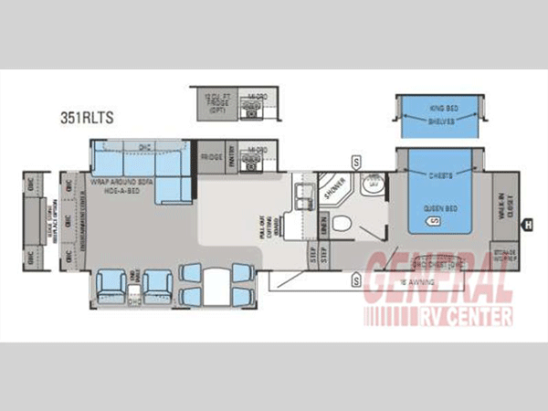 Jayco Eagle Floorplan