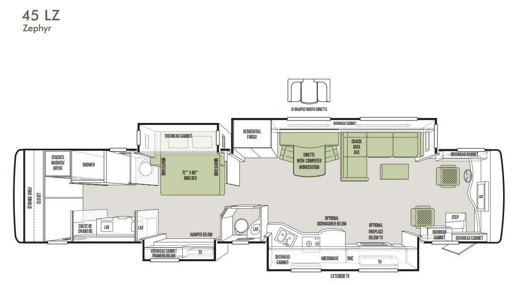 Zephyr Floorplans