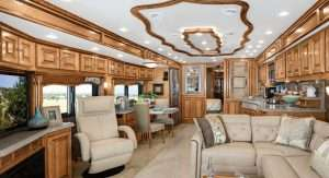 Allegro Bus Interior