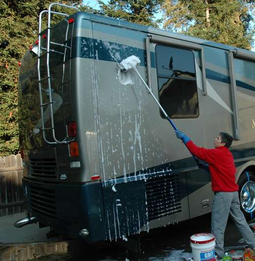 Rving Tips Cleaning The Exterior Of Your Rv Or Camper Welcome To The General Rv Blog