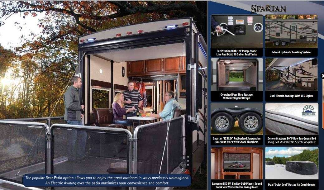 Luxury Th Wheel Travel Trailers