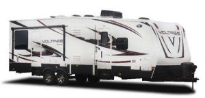 An image of a Dutchmen Voltage Fifth Wheel
