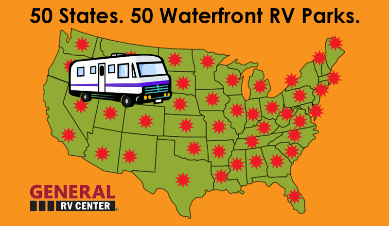 50 States 50 Waterfronts
