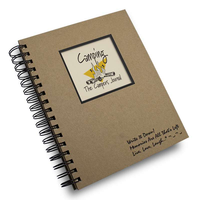 A great gift idea for the camping enthusiast. Next time you go camping you'll be glad you wrote down the where and how of your previous experiences ...