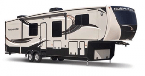 An image of a rushmore fifth wheel