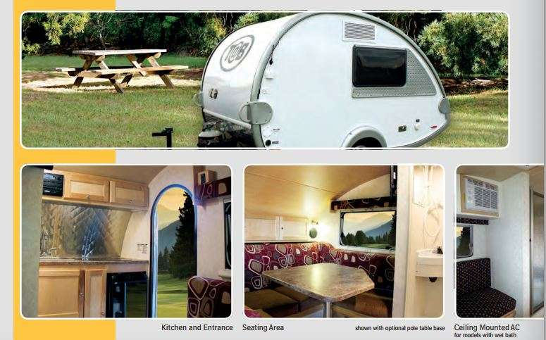 Introducing Tb Teardrop Trailers Now Available At General RV