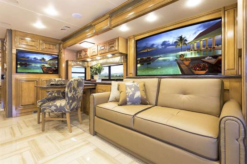 The New 2015 Tuscany 40dx Innovating Motorhome Living
