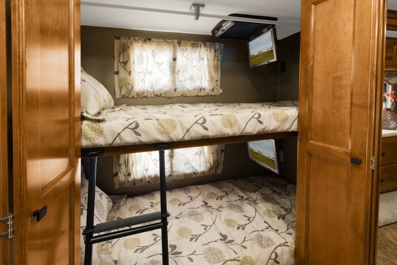 12 must see bunkhouse rv floorplans welcome to the for Rv with 2 master bedrooms