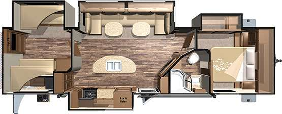 12 Must See Rv Bunkhouse Floorplans General Rv Center