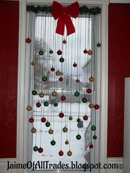 diy window christmas decorations