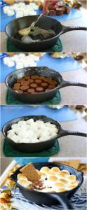 skillet-recipes-dessert-camping-smores