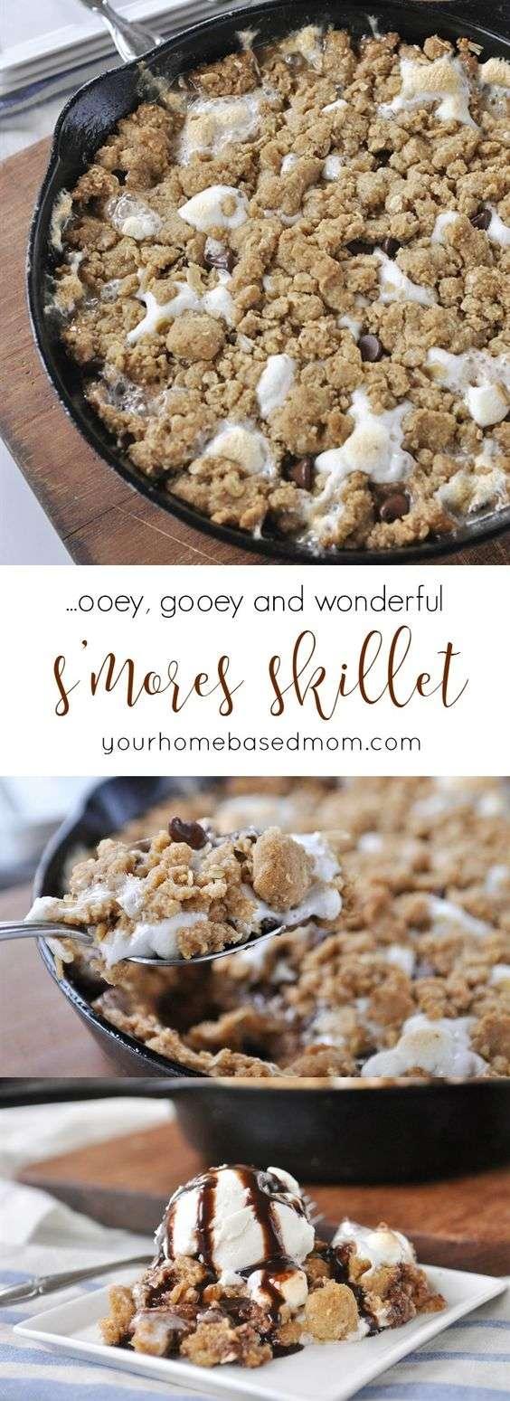campfire-skillet-recipe-dessert
