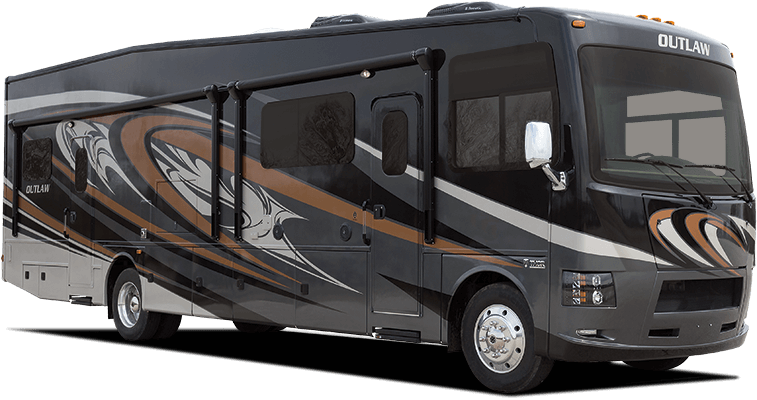 Outlaw-Class-A-Motorhome-toy-hauler