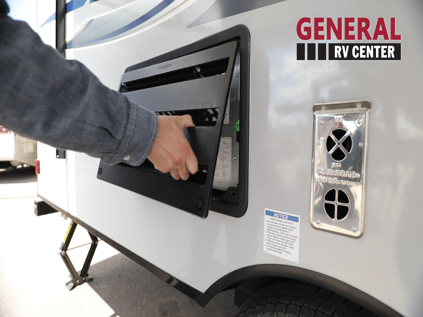 Install RV Insect Screen on RV Refrigerator Vent