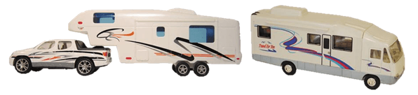 last minute gift idea: toy RVs