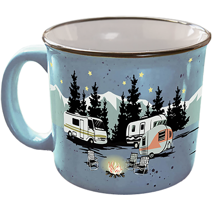 Last minute gift idea: Camp Casual Mug