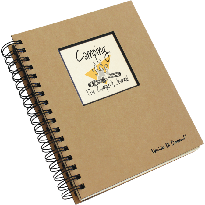 Last minute gift idea: Camping Journal