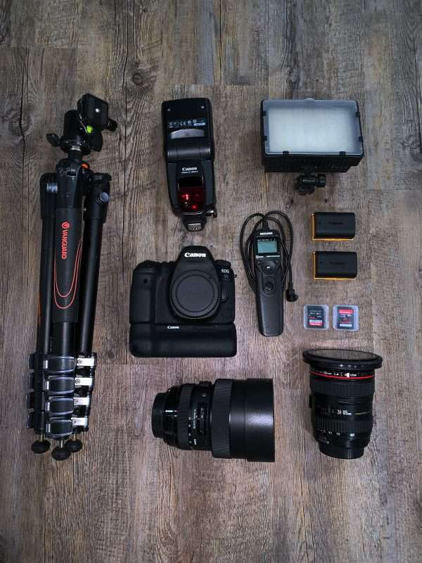 Photography gear to capture memories