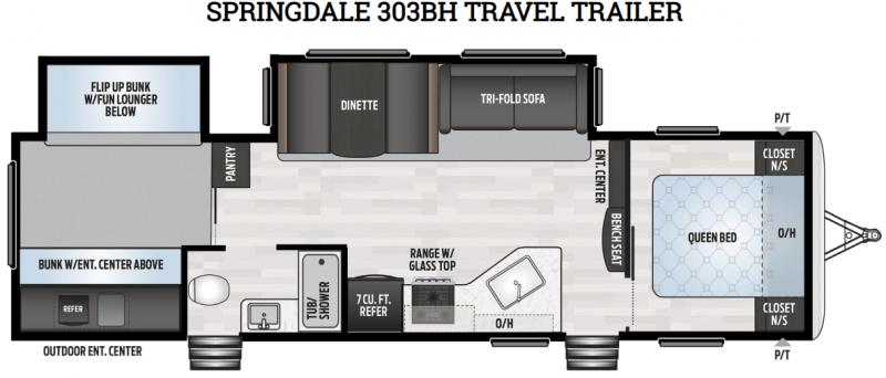 Springdale 303BH floorplan