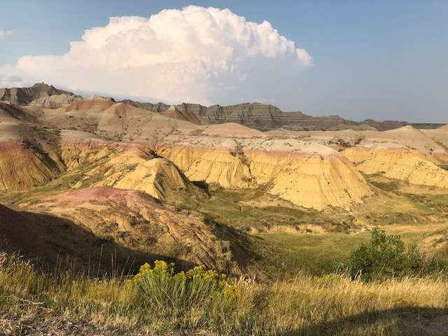 The rugged beauty of Badlands National Park draws visitors each year. Plan your spring camping adventure to South Dakota and be sure to stop at Mt. Rushmore.