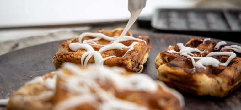 Quick & Easy Pie Iron Cinnamon Rolls Recipe