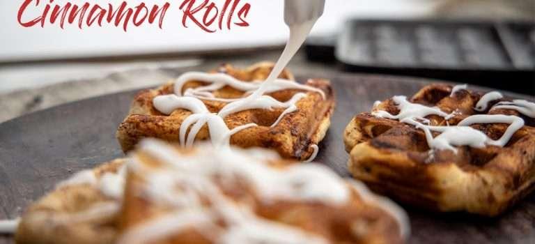 Quick & Easy Pie Iron Cinnamon Rolls Recipe