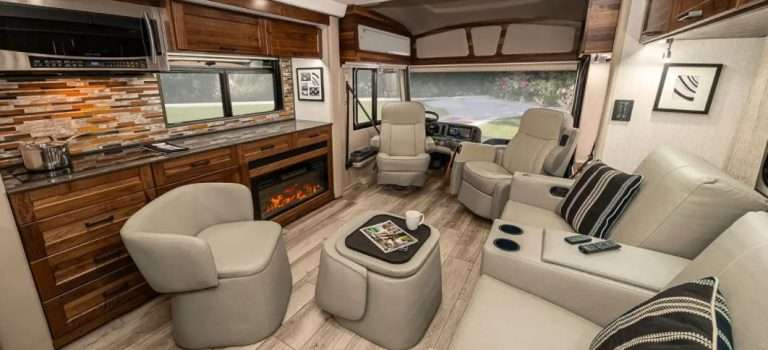 Winnebago Journey diesel motorhome stands out for comfort and luxury
