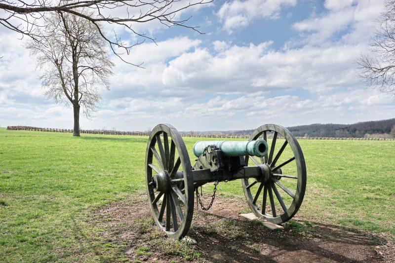 civil war cannon virginia