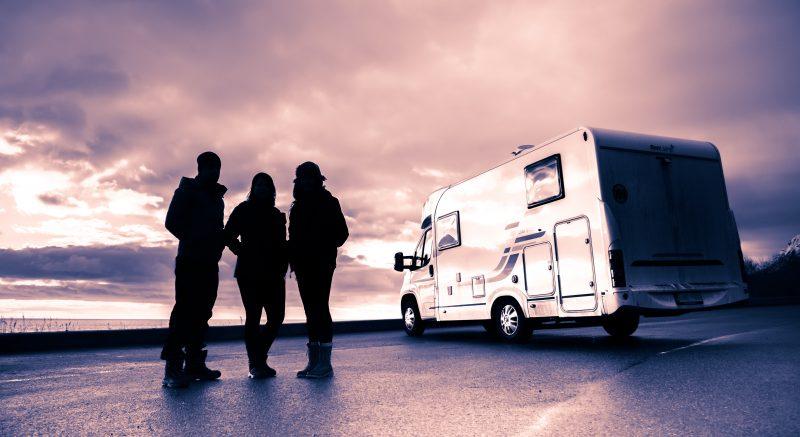 rv campgrounds sunset sunrise